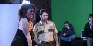Behind the scenes of Zombies hardcore movie