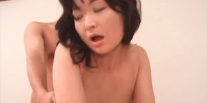 Slim Japanese enjoying hardcore anal sex in several pos