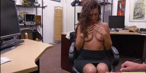 Victoria Banxxx fantastic pussy gets fucked in the offi