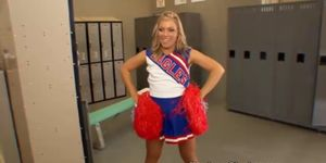 cheerful cheerleader blonde gets banged by her hung teacher  275565