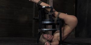 Penalized bdsm sub bastinado punished