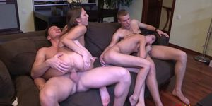 18videoz - Foxy Di - Efina - Perfect double date with s