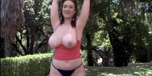 Cute redheads with big tits get fucked hard