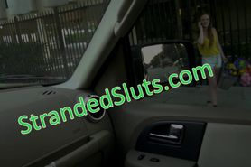 Big titty blonde Sam Summers takes a ride and gets fuck
