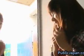 Haruka itoh asian babe has sex in public part3