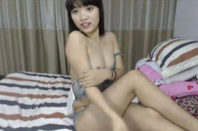 Sexy Chinese trimmed teenager Linda