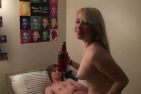 Dorm room turns into fuck area for horny college studen