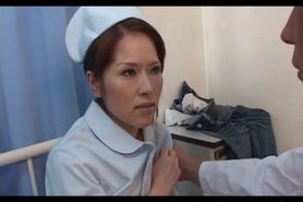 Sweet Asian nurses pussy flaunted and teased in close-u