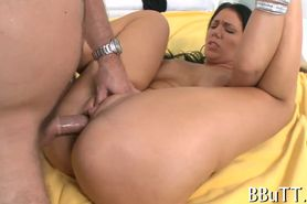 Sexual babe nailed well
