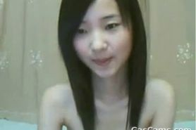 Cute Girl From China Masturbating