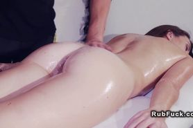 Vampire masseur fucks hot brunette babe the massage tab