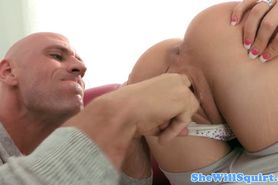 Squirting pornstar Amy Brooke nailed hard
