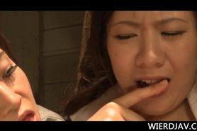 Japanese girl in prison used as sex slave and fucked in