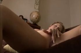 Amateur blonde Great wife