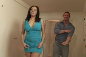 Stepmom joins ffm action with horny teen