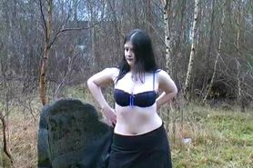 Piss UK Girl Celeste Flashing around Carlisle