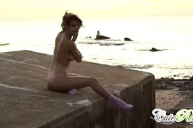 Cute Rain - Naked in the fishermans port