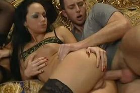 eva angel foursome in hotel