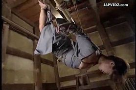 No Sound: Asian Teen Prepped for Bondage