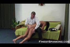 Long Haired Girl gets some punishing