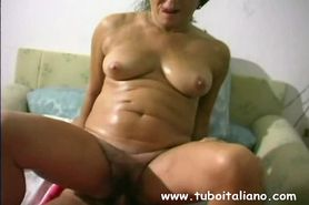 Italian BBW Amateur Wife Moglie IT