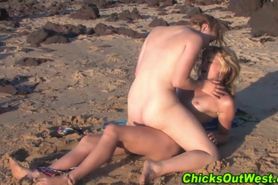 Outdoor hairy lesbos