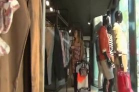 Fucked In The Ass In Clothing Store