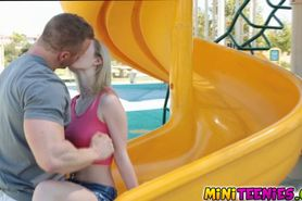 Skylar Green will give you a blow outdoor