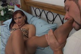 Girl in stocking have sex