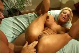 orgasm Blonde fucked hard