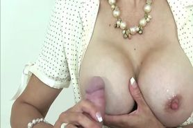 Mature femdom brit in stockings