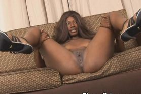 Dirty Black Slut Making Faces While Getting Pounded In
