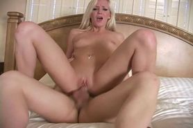 Babe cuckolds her man