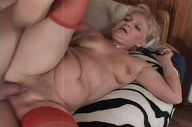 Bubble Butt Granny Takes it Hard - 12