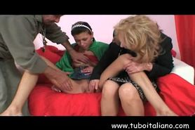 Italian Mature and Teen Nonni