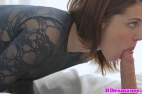 Amateur girlfriend eaten out by her man