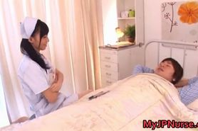 Aino Kishi Japanese nurse shows off her part3