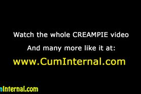 Ass fucked creampie slut