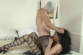 Shemale prozzie gets fucked by sissy