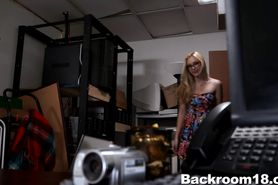 Hot Blonde Samantha Rone Auditions
