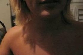 Playing with horny wife
