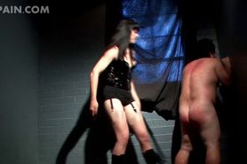 Horny dude craving for a BDSM experience gets dick tort