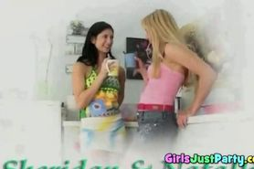 playful teens eats cunt with each other