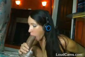 Hot Slut With A Huge Dildo