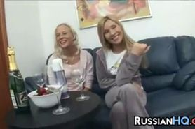 Hot Russian Girls In A Threesome