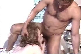 Blonde Fucked In Calssic Porn