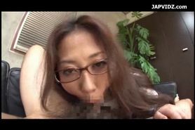 Miosaic; asian sexx office blowjob
