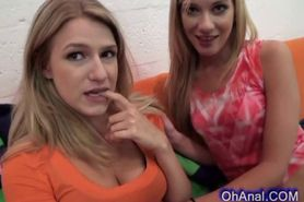 Young horny blonde are lots of fun
