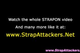 Mistress strapon slams