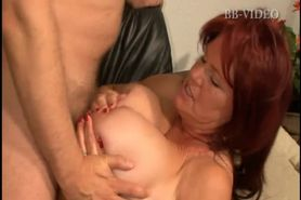 Massive Breasted German Mature Clip 2